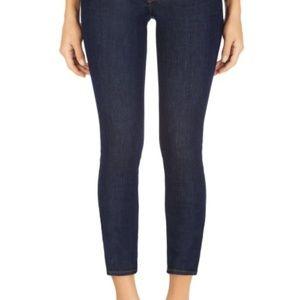 J Brand 835 Mid-Rise Capri Denim Jeans
